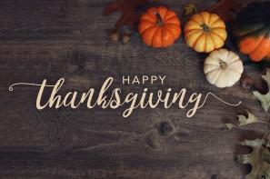 Thanksgiving Weekend (November 28-29, 2020) *NO Event*