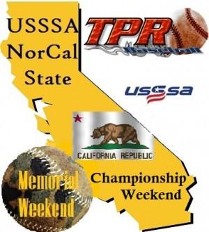 USSSA California State Championship/Memorial Weekend (May 26-28) 4 game minimum.