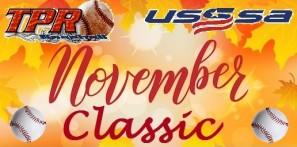November Classic (November 23-24, 2019) Special Pricing!