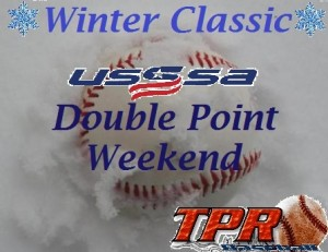 Winter Classic USSSA DOUBLE POINT Weekend (Dec. 14-15, 2019)